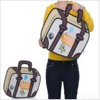 5pcs/lots Fashion design Taiwan secondary yuan 3D shoulder 3D bags cartoon handbags tote bags 1449