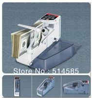 Free Shipping NEW  Mini Portable Handy Bill Cash Money All Currency Counter Counting Machine