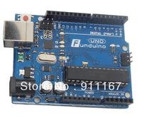 Best Price Funduino Development Board UNO R3 Board  MEGA328P ATMEGA16U2 with Free USB Cable for Arduino