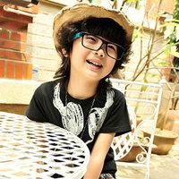 New Boys Tops Summer Fashion Tshirts Cool Headphone Design,95% Cotton 5% Spandex,5pcs/lot,Free Shipping K0122