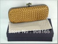 Hot-sale handmade silk long style women woven bag,2013 handbag for women free shipping