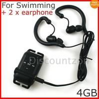 Sport Swimming Spa Running Waterproof MP3 Player 4GB
