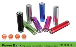 universal mini power bank 2600mAh mobile power supplier for iphone/iphone 4S/Samsung/digital camera convenience for daily life(China (Mainland))