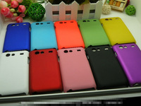 Free Shipping Cheapest Oil-coated Hard Rubber Matte Case for Samsung Galaxy S Advance i9070 Colorized Hard Matte Case, SAM-114