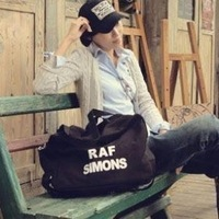 Canvas raf simons decoration multifunctional bags canvas bag multifunctional bag travel bag