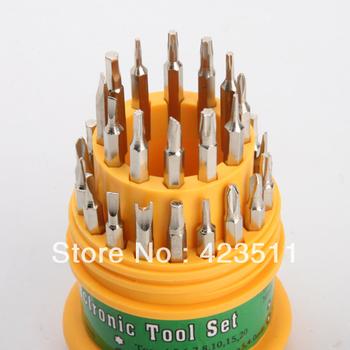 E Cigarette Electronic DIY 31 in 1 Screwdriver Set Mobile Phone Repair Kit Tools