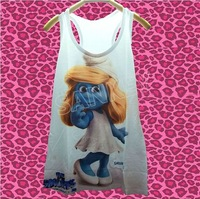 Vintage New Fashion Modern  Cool Vest Tanks Camis Rock&Roll Punk Cute Sweet+track ship