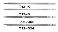 Tntegrated Solder Iron Tips T12 for Hakko Soldering Rework Station FX-951 FX-952 FREE shipping 10models /lot