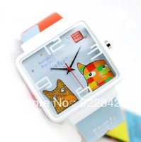 Naughty pets jelly watch fashion cartoon child table student watch nnp24