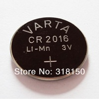 Original Varta CR2016 3V Li-MN Button Coin Cell car Key Battery 1pcs/lot free shipping