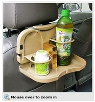 Car Seat Multi Tray mount Food table meal Desk Stand Drink Cup Holder - Sample