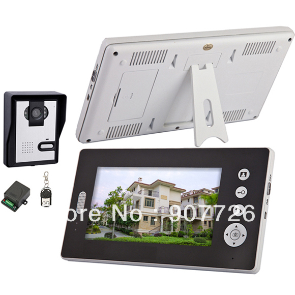 wholesale 2.4Ghz digital Wireless video door phone (1 to 2)(China (Mainland))