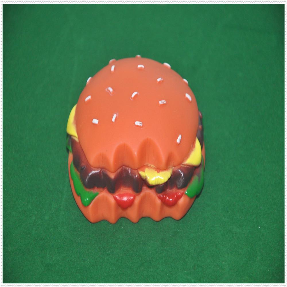dog toys rubber hamburger dog toys wholesale pet toy(China (Mainland