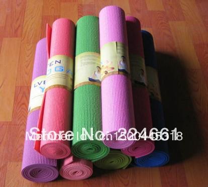 2014 Good Qualtiy PVC Foam Yoga Mat, Comfortable Mat(China (Mainland))
