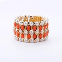 Fashion fashion accessories bohemia fashion wide bracelets bracelet Factory Wholesale