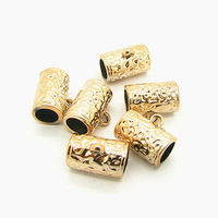 (Inner Size 7mm)Wholesale UV Gold Plated Accessories11*18mm 200pcs Astness Bracelet&Necklace Jewelry Finding Free Shipping HB654