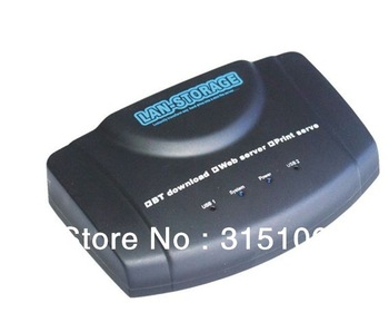 Free Shipping USB Network Storage Nas FTP Samba Print Server BT DLNA DDNS Download Client