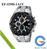 Fashion Watch Mens EF-500BP-1A1V Hardlex Glass Dive Watches Sport Wristwatch WR 100m Free Ship With Original box