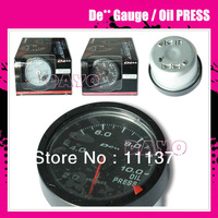 2012 New 60mm Oil Press Gauge / DE** Advanced CR Series Gauge