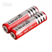 10pcs/Lot Ultrafire 18650 Rechargeable Lithium lon 3000mAh battery protected for LED torch HEADLAMP