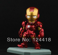 Free Shipping Iron Man Action Figure Tony Stark Toy 15cm Hot Doll