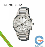 Fashion Watch Mens EF-500BP-1A Hardlex Dive Watches Sport Wristwatch WR 100m Free Ship With Original box