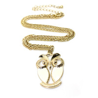 Minimum Order $6 Free Shipping Best Selling 2013 New Arrival  Jewelry High Quality  Owl Pendant  Neckalce N015
