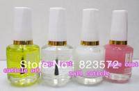 12pcs nail care/saver  base coat+top coat+nail cuticle+cuticle oil+free shipping