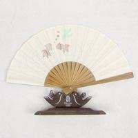 Folding fan crafts fan japanese style folding fan cloth fan folding fan women's folding fan 074
