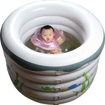 Yingtai baby swimming pool with many gifts child bath bucket baby bath basin insulation inflatable baby infant child ball pool