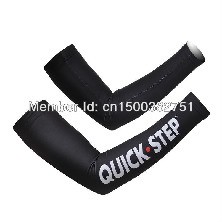 FreeShipping Hotsale 2013Pro Team Cycling Arm Warmer Good Quality Promotional Products Professional cycling clothing cuff(China (Mainland))