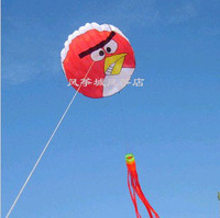 Free shipping new design soft bird kite flying easy flying lovely child kite flying toy nylon ripstop weifang kite