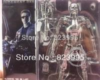 HOT SELL NECA Genuine Terminator 2 Skeleton Heavy Weapons 18CM  Figure