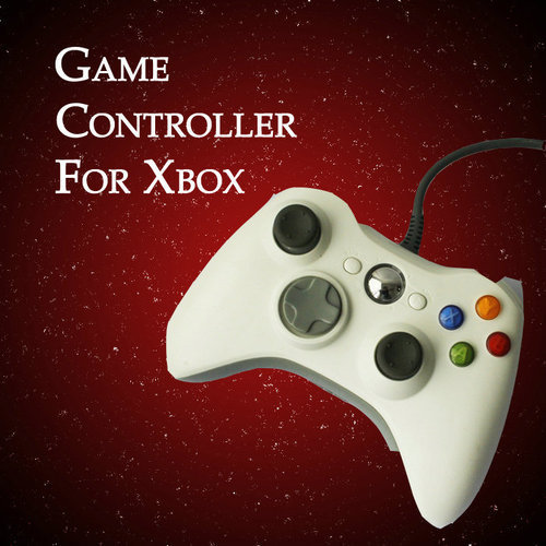 White Wired USB Game Pad Controller For MICROSOFT Xbox 360 PC Windows7 XP(China (Mainland))