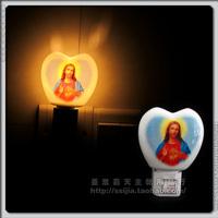 Mdash . mdash . jesus ceramic night light