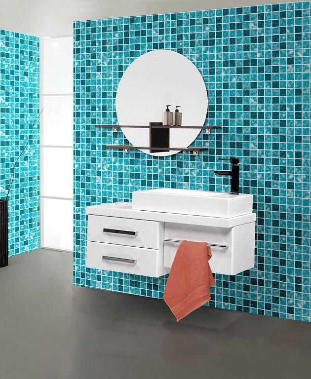 Azulejos Baño Sueltos:Mosaic Tile Bathroom