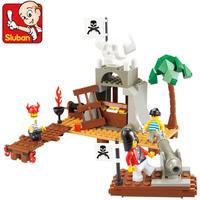 Sluban blocks boy  assembling toys fight inserted blocks. Plastic blocks . Free shipping