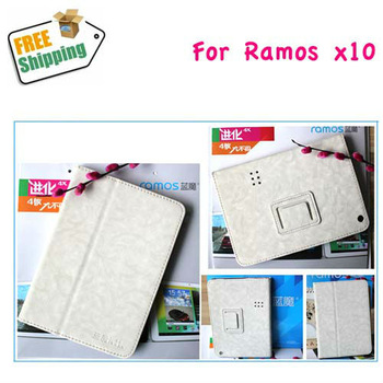 Free Shipping Original Leather Stand Case For 7.85 inch Ramos X10 mini Pad Tablet PC