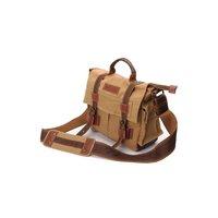 DSLR SLR Camera Canvas Shoulder Bag for Sony Canon Nikon Olympus