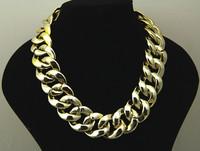 Sunshine jewelry store punk plastic chunky necklace x327 ( $10 free shipping )