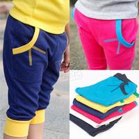 2013 summer brief boys clothing girls clothing baby child 5 pants capris kz-1603