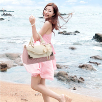 Women's handbag 2013 spring and summer fashion female bags portable one shoulder cross-body bow women's handbag