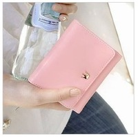 Free shipping Ms han edition wallet Chesapeake metal crown brief com.lowagie.text.paragraph wallet purse handbag