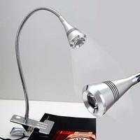 5W Warm white Color LED desk lamp 40cm long eyes protection 1pcs/Lot Aluminum LED table lamp reading Lamp USB table light