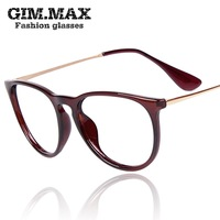 Free shipping Gimmax2013 vintage metal glasses frame star plain mirror big frame eyeglasses