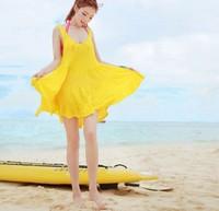 Bikini beach bikini dress all-match beach clothes female