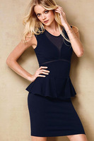 Fashion popular fashion slim waist slim hip ladies elegant ol one-piece dress 2695