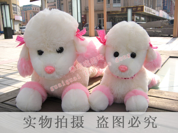 Plush toy yanni dog poodle doll birthday wedding gifts girls gift(China (Mainland))