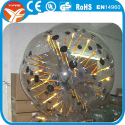 Inflatable body zorb ball/buddy bumper ball games(China (Mainland))