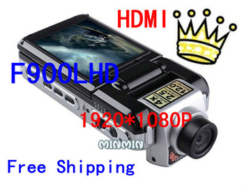 Competitive Price& Fair full hd 2.5'' TFT Car DVR back up cameras IR LEDs night vision1080p F900LHD 1080p